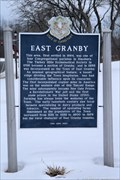 Image for East Granby Historical Marker