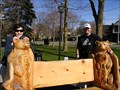 "Image for ""TWO BEARS BENCH""  Brooklin, Ontario CANADA"