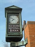 Image for Old Second National Bank Clock - Aurora, Illinois