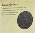 Image for Kansas Statehood -- Marais des Cygnes SHS, Linn Co. KS