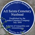 Image for All Saints Cemetery Nunhead, Linden Grove, London, UK