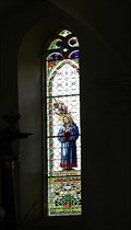 Image for Stained Glass of Church of Virgin Mary, Stare Mesto pod Landstejnem, Czech Republic