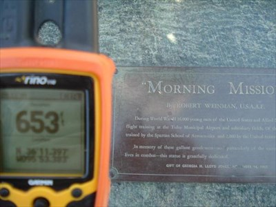 THE PLAQUE AND THE GPS