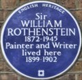 Image for William Rothenstein - Pembroke Square, London, UK