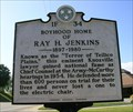 Image for BOYHOOD HOME OF RAY H. JENKINS ~ 1F 34