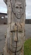 Image for Wooden 'totem' - Pyworthy, Devon