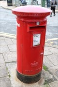 Image for Victorian Pillar Box - Somerled Square, Portree, Scotland