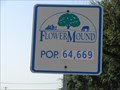 Image for Flower Mound, TX - Population 64,669