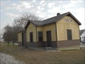 Image for Pesotum Train Depot, Pesotum, Illinois.