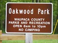 Image for Oakwood Park Playground - Waupaca, WI