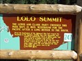Image for Lolo Pass, ID