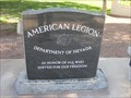 Image for American Legion Memorial - Boulder City, NV