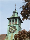 Image for Clock on cemetery chapel - Schwabach, Germany