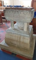 Image for Norman Font - St Mary - Dinton, Wiltshire