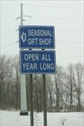 Image for The seasonal/unseasonal gift shop