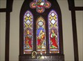 Image for Virgin Mary Panels, St Mary's Espicopal Church, Green Cove Springs, Fla