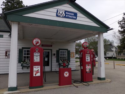 Ambler's Texaco Station