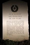 Image for El Camino Real de los Tejas -- Site of Mission San Francisco, SH 21 west of Alto TX