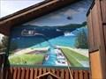 Image for Ski Run  Marina Mural  - South Lake Tahoe, CA