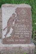 Image for PFC Rafael P. Garza, US Army AEF -- Collins Cemetery, Alice TX