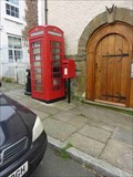 Image for Red Telephone Box, Clun, Shropshire, England
