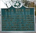 Image for CSA Rifle Pit - Corinth, Mississippi