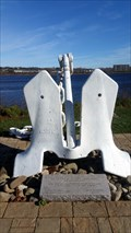 Image for HMCS Fredericton anchor - Fredericton, NB