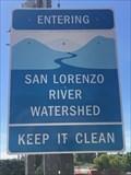 Image for San Lorenzo River Watershed - Santa Cruz County, California