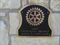 Image for Bowie Welcome Sign - Bowie, TX