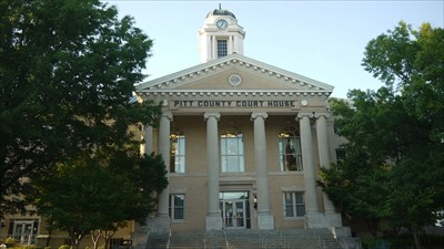 Pitt County Courthouse-Greenville,NC - Courthouses on