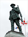 Image for War Memorial Soldier - Yarmouth, NS