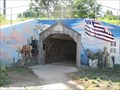 Image for Yardley Underpass Mural - Welcome Side  - Yardley, Pennsylvania
