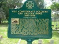 Image for Old Confederate Soldiers and Sailors Home 1893-1938 - Jacksonville, Florida