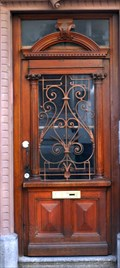 Image for Doorway of house 2 Passage de l'Hôtel de ville, Mulhouse - Alsace /France