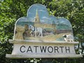 Image for Catworth Village sign - Camb's