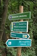 Image for Wegweiser Schloßteich - Grillenburg, Lk. Sächs. Schweiz-Osterzgebirge, Sachsen, D
