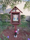Image for Schoenstatt Wayside Shrine -- St. Mark's Catholic School, Plano TX
