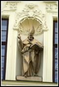Image for Socha sv. Augustina (Mendlovo nam.) - Brno, Czech Republic