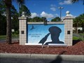 Image for 'We Salute Our Veterans' Mural - Port Charlotte, Florida, USA