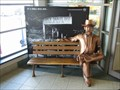 Image for (LEGACY) Sit-by-me Statue - Sit a while with Jack Daniels