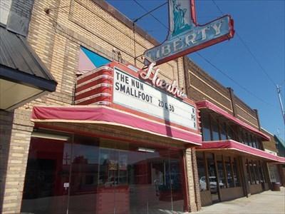 Liberty Theater - Carnegie, OK - Vintage Movie Theaters on Waymarking.com