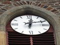 """Image for Clock at Catholic Church """"St. Jakobus der Ältere"""" in Ersdorf - NRW / Germany"""