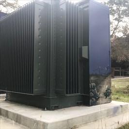 Back Side of Small Utility Box, Saratoga, California