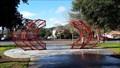 Image for Red Semi Circles - Morgan Hill, CA