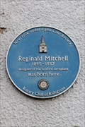 Image for Reginald Mitchell Blue Plaque - Butt Lane, Stoke-on-Trent, Staffordshire