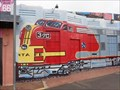 Image for Santa fe Train Mural - El Trovatore - Kingman, Arizona, USA.