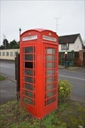 Image for Red Telephone Box - Brandon Warwickshire