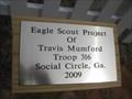 Image for Mt Pleasant United Methodist Cemetery Fence - Social Circle, GA