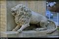 Image for Lev u pomníku obetem 1. svetové války / Lion at World War I Memorial - Dolní Brežany (Central Bohemia)