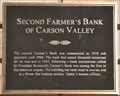 Image for Second Farmer's Bank of Carson Valley